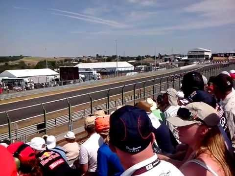 F1 2013 LIVE - Hungaroring (view from GOLD 4 tribune)