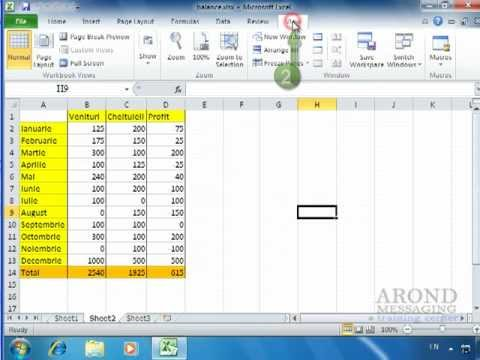 Using Excel 2010 - Toggle Worksheet Gridlines On and Off