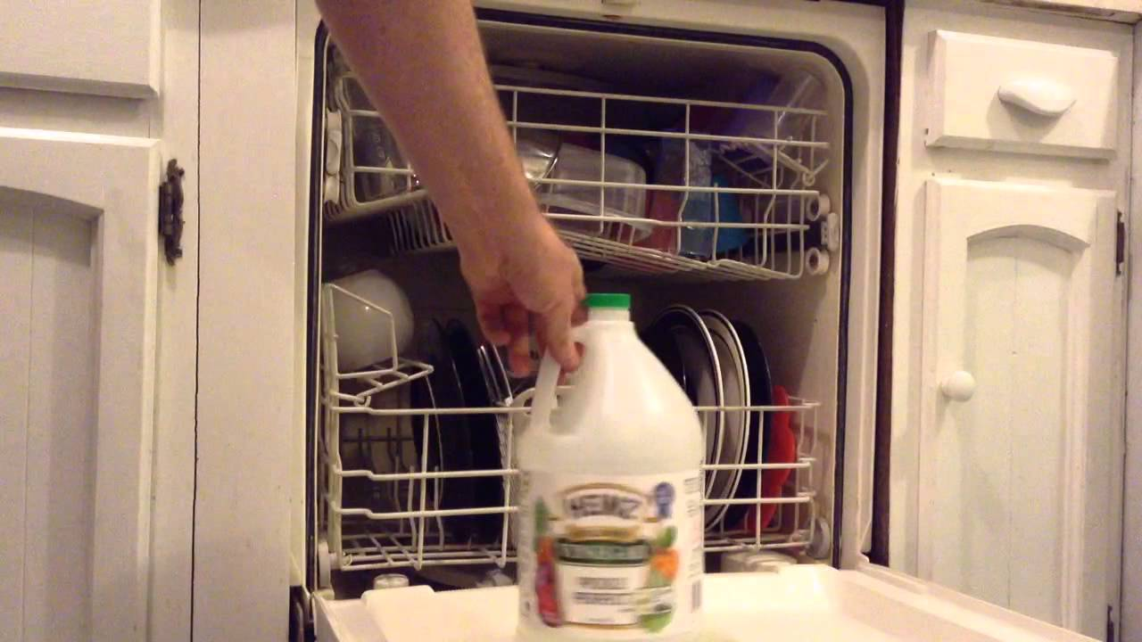 How To Remove Lime Deposits From Dishes - YouTube