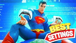 New *BEST* Controller Fortnite Settings/Sensitivity LINEAR *AIMBOT* - Season 7 Settings - Xbox/PS5🌟🎮