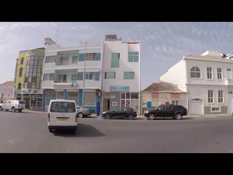 Cabo Verde Santiago Praia Downtown, Gopro / Cap-Vert Santiago Praia Centre, Gopro