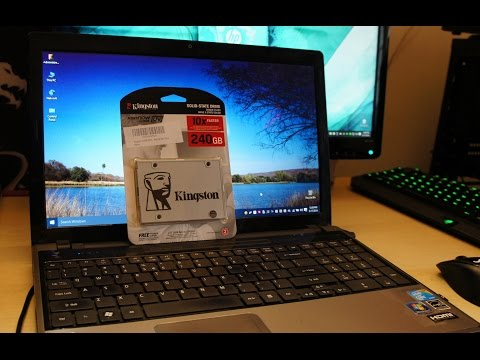 Speed Up Your Slow Laptop/Desktop Using A SSD (SSD Install And Speed Demonstration)