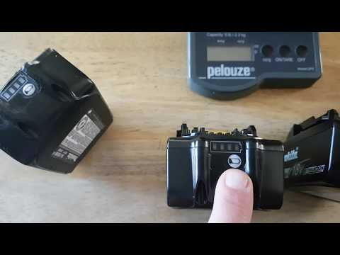 How to tell a genuine Makita 18V Battery from a Fake.