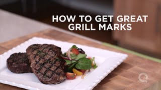 How to Get Great Grill Marks: In the Kitchen with David Venable