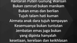 Video Dikir Temasek - Hantaran Puteri Gunung Warisan lyrics download MP3, 3GP, MP4, WEBM, AVI, FLV Oktober 2018