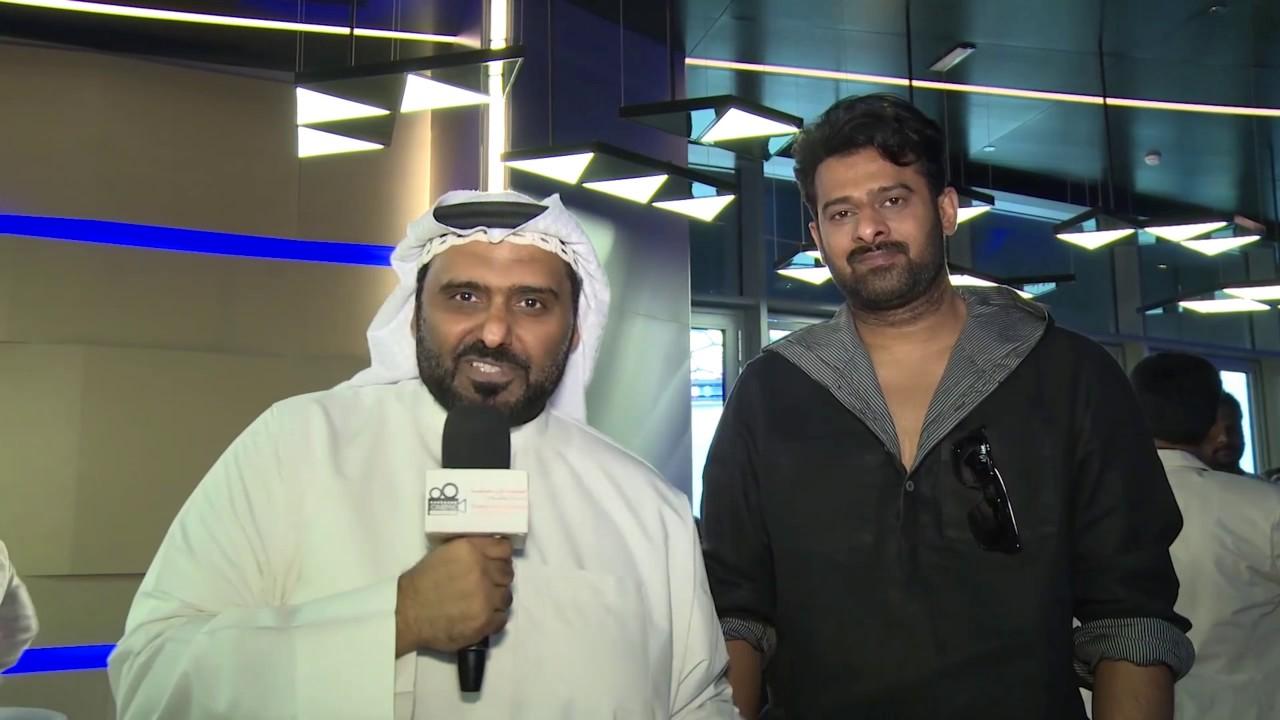لقاء الناقد حمد الريامي مع الفنان الهندي براباس بطل فيلم