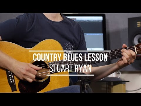 Country Blues - Acoustic Fingerstyle Lesson