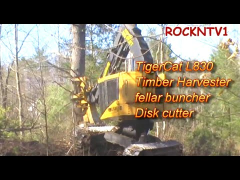 Timbercat L830 Timber Harvester: STAND BACK 500 FEET