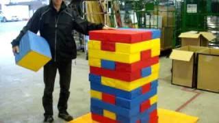 最初の積み方は一段に対して「赤・青・黄」を積んで下さい。 動画ではル...
