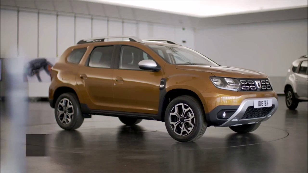novo renault dacia duster 2018 design externo youtube. Black Bedroom Furniture Sets. Home Design Ideas
