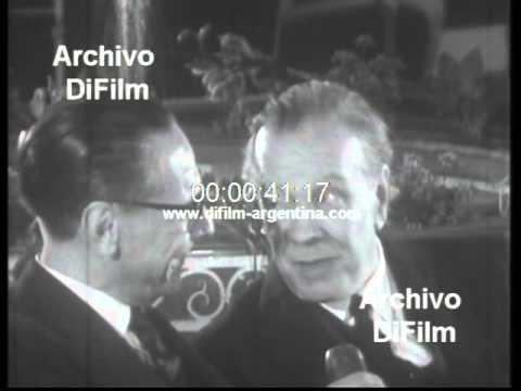 DiFilm - Entrevista al escritor Jorge Luis Borges 1964