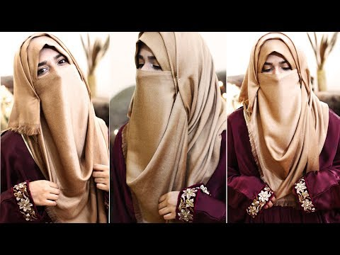 Everyday Niqab Style Without Inner Cap For Ramadan 2018