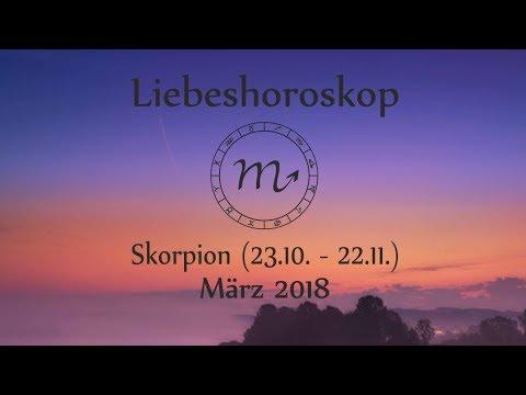 horoskop skorpion märz