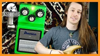 How To Use Overdrive: Ibanez Tube Screamer