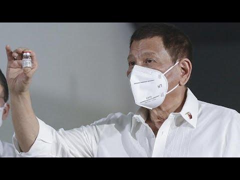 رئيس الفلبين يحذّر من كارثة ستحلّ في بلاده بسبب نقص لقاحات -كوفيد-19-…  - 14:59-2021 / 4 / 16