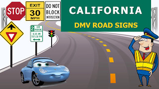 California DMV Road Signs Permit Practice Test (Hard) - CA DMV practice test