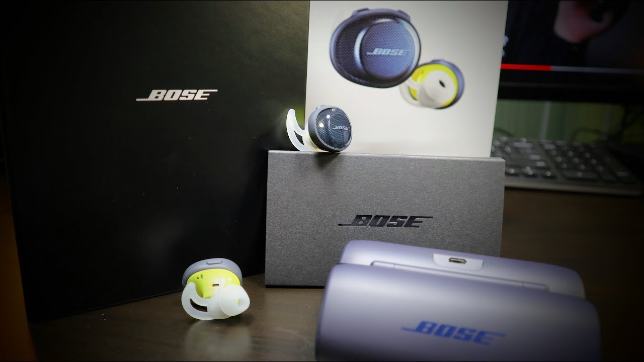 Bose Sound Sport Free In Blue Yellow New Improved Test Youtube Soundsport Wireless Earphone Navy