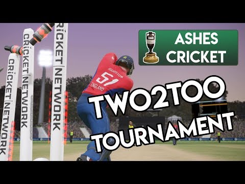 TWO2TOO TOURNAMENT ~ Ashes Cricket Gameplay (Part 1)