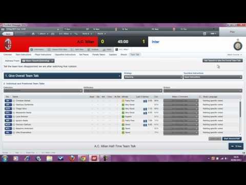 Footie Manager EP 3 AC MILAN