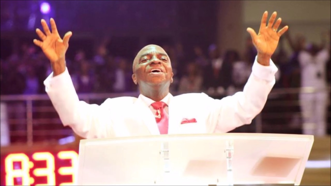 Image result for Bishop Oyedepo rains curses, reveals what will happen