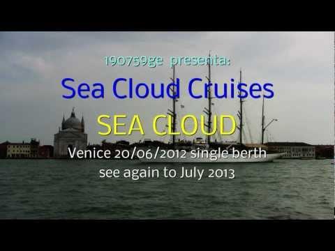 SEA CLOUD  the legend  beneath white sails Venice 20/06/2012