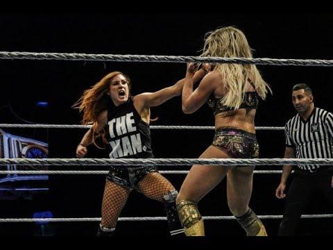 Becky Lynch VS Charlotte Flair || Women Championship || WWE Main Event || London
