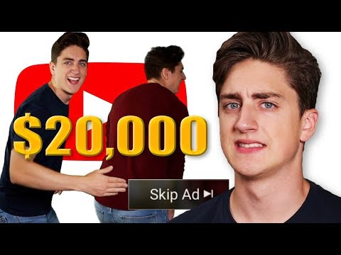 I Spent $20,000 Advertising On YouTube And Now Everyone Hates Me