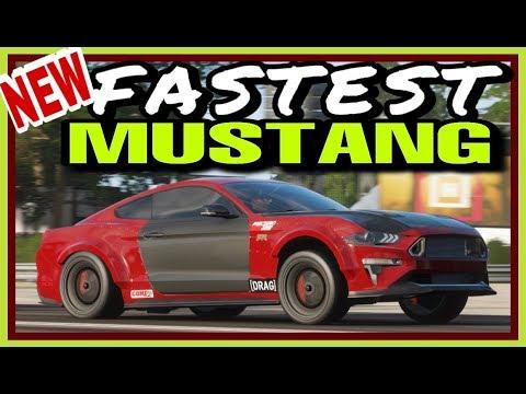 "FASTEST MUSTANG ""RTR"" ( DRAG TUNE ) - FORZA HORIZON 4 thumbnail"