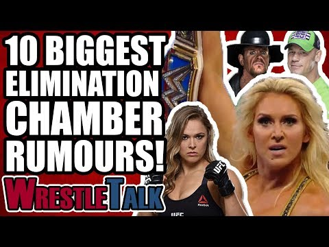 10 BIGGEST WWE ELIMINATION CHAMBER 2018 RUMORS, RETURNS & SURPRISES!