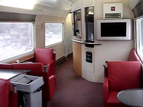 Via rail the ocean explore train inside youtube Via rail canada cabin for 2