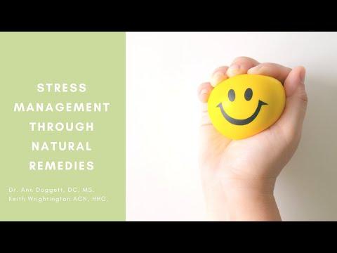 Lets Talk Stress: Manage Stress Naturally
