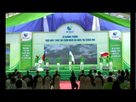 Lễ khánh thành nhà máy SX TA chăn nuôi Đồng Nai