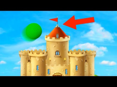 HIT THE CASTLE HOLE IN ONE! (Golf It) |