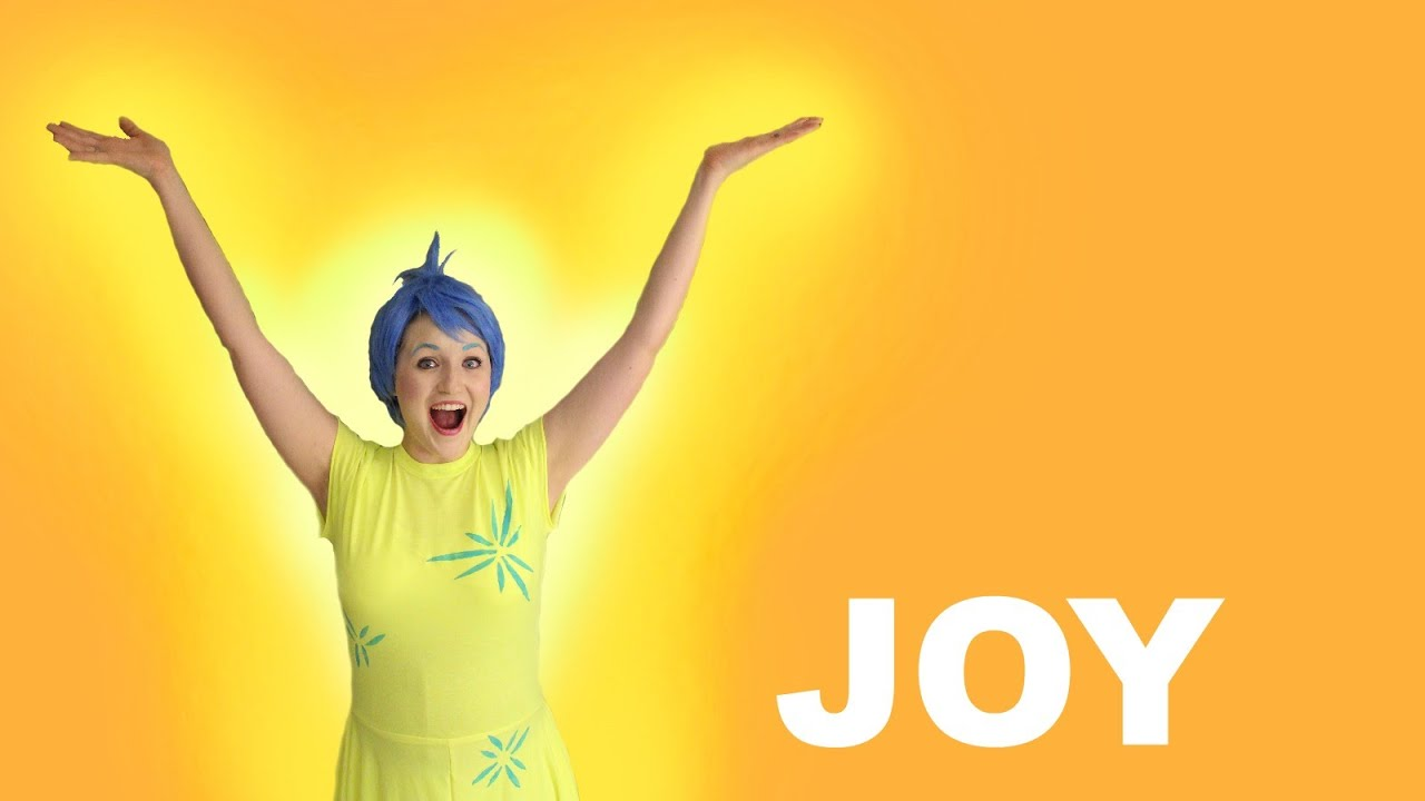 How To Make A Joy Inside Out Costume Easy T Shirt Dress Youtube