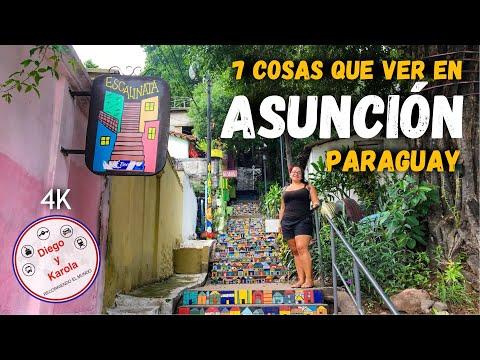 ASUNCIÓN | 7 COSAS QUE HACER | PARAGUAY | 4K |