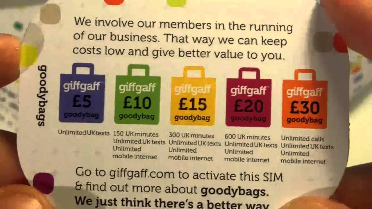 What is behind the free SIM cards