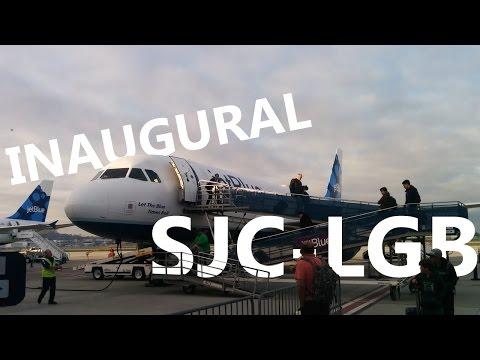 jetBlue - Inaugural San Jose, CA to Long Beach - B6 725