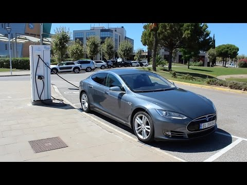 Viaje Barcelona-Bruselas (1.350 km) en Tesla Model S - parte1