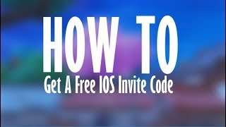 How To Get Free iOS Invite Code | Fortnite
