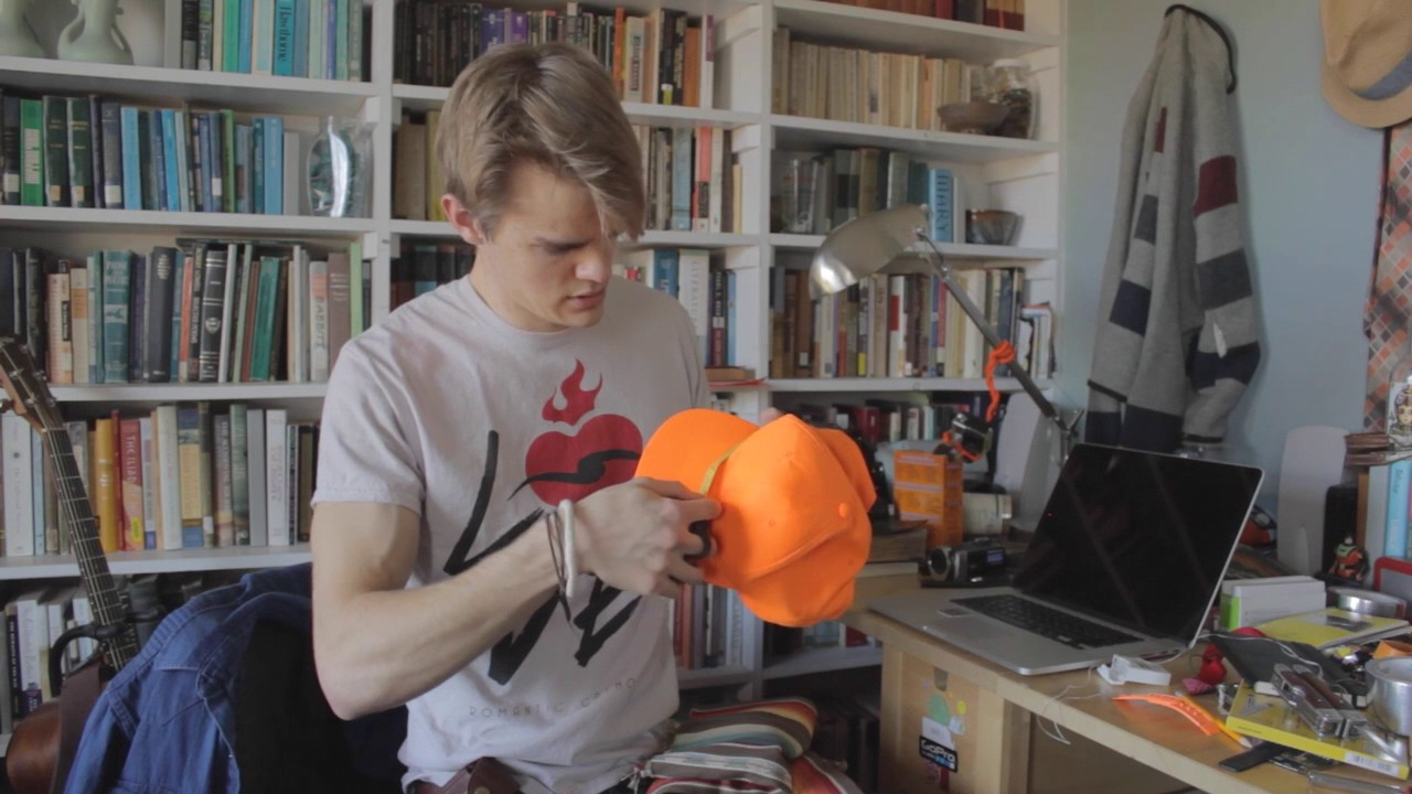 738f40fd707cbb How to Make a Hipster Trucker Hat - YouTube