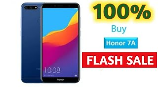 How to book honor 7A || mobile in flash sale