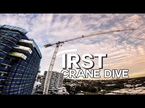 Nail & Bail - Crane/Building dive (Miniquad FPV) Very first