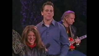 Brad Sherwood and Chip Esten: improv song to an audience member