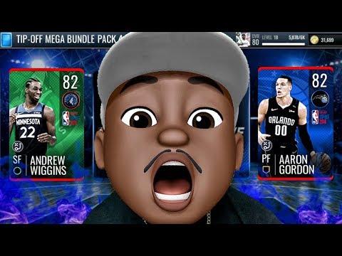 MEMOJI QJB PULLS 82+ OVR HEROES IN TIP-OFF PACK OPENING! NBA Live Mobile 19 Season 3 Ep. 12