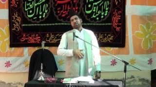 Allama Ali Nasir Talhara at Bhowanj Sarai Alamgir 20th FEB 2016 Majlis