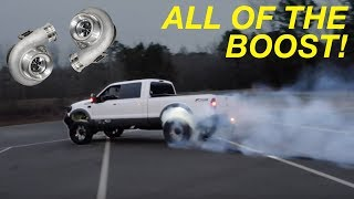 I Installed BIGGER TWIN TURBOS On The Powerstroke!!  PART 1