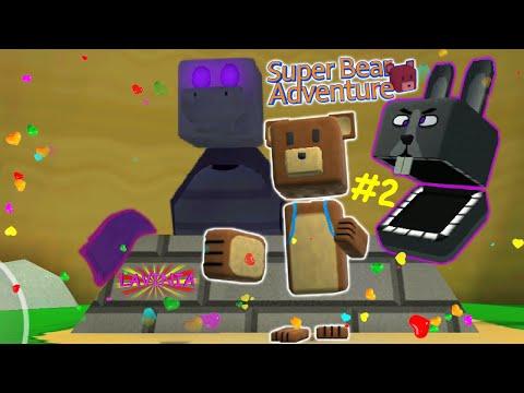 Приключение Супер Мишки Первая часть! Прохождение игры Super Bear Adventure!