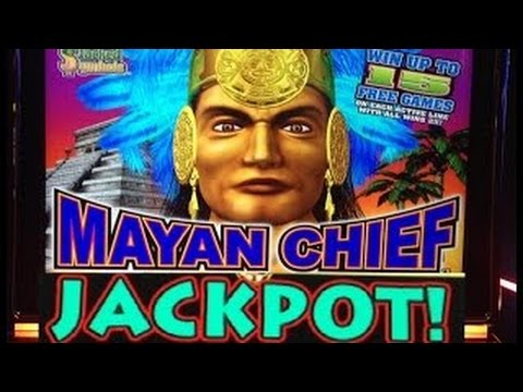 Mayan Chief Slot 5c Bonus $2.25 Bet 1970x *Handpay Jackpot* at Woodbine