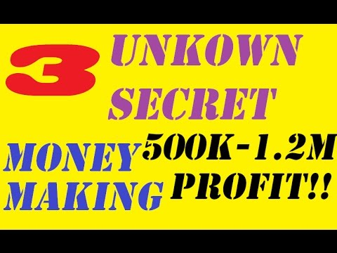 BEST SECRET MONEY MAKERS P2P LOW REQUIREMENTS 500k-1.2m P/H! - Runescape 2007 Oldschool