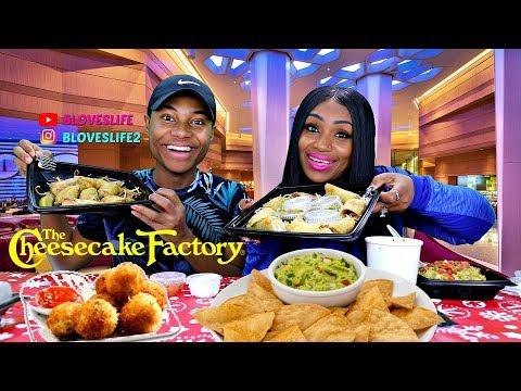 Cheesecake Factory Mukbang With Darius